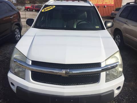 2005 Chevrolet Equinox for sale at McAllister's Auto Sales LLC in Van Buren AR