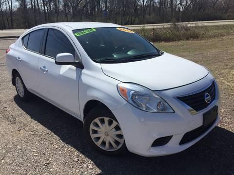 2012 Nissan Versa for sale at McAllister's Auto Sales LLC in Van Buren AR