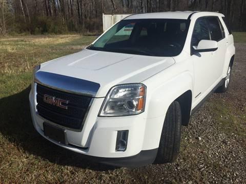 2013 GMC Terrain for sale at McAllister's Auto Sales LLC in Van Buren AR