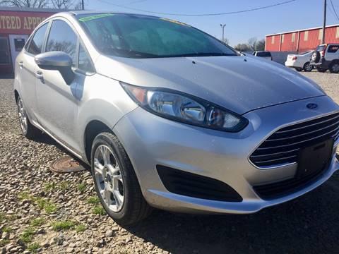 2014 Ford Fiesta for sale at McAllister's Auto Sales LLC in Van Buren AR