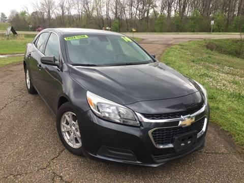 2014 Chevrolet Malibu for sale at McAllister's Auto Sales LLC in Van Buren AR