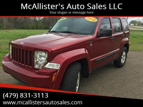 2012 Jeep Liberty for sale in Van Buren, AR