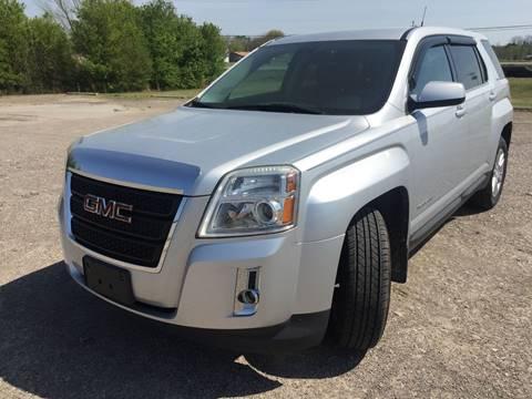 2011 GMC Terrain for sale at McAllister's Auto Sales LLC in Van Buren AR