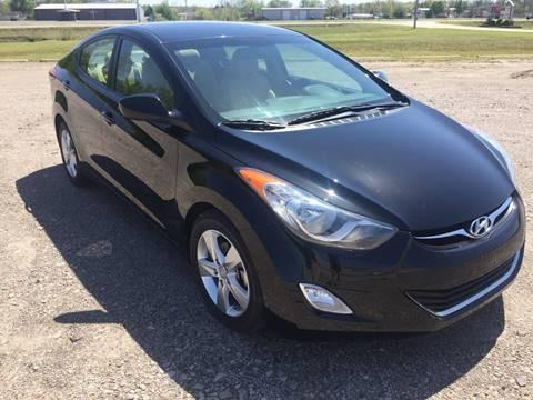 2013 Hyundai Elantra for sale at McAllister's Auto Sales LLC in Van Buren AR