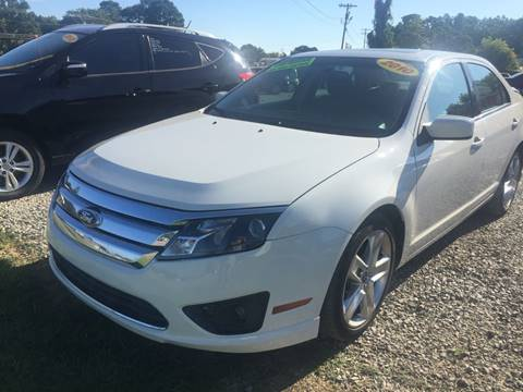 2010 Ford Fusion for sale at McAllister's Auto Sales LLC in Van Buren AR