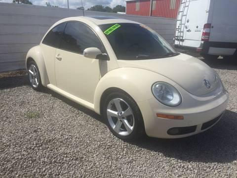 2007 Volkswagen New Beetle for sale at McAllister's Auto Sales LLC in Van Buren AR