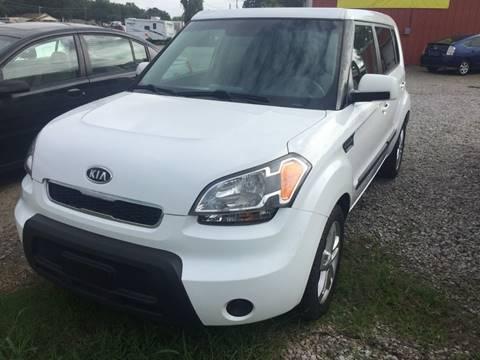 2011 Kia Soul for sale at McAllister's Auto Sales LLC in Van Buren AR