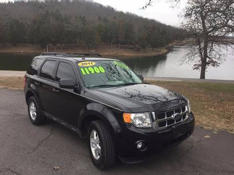 2011 Ford Escape for sale at McAllister's Auto Sales LLC in Van Buren AR