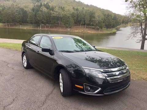 2012 Ford Fusion for sale at McAllister's Auto Sales LLC in Van Buren AR