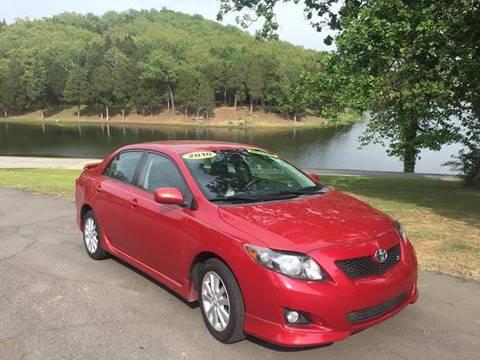 2010 Toyota Corolla for sale at McAllister's Auto Sales LLC in Van Buren AR
