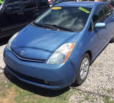 2006 Toyota Prius for sale at McAllister's Auto Sales LLC in Van Buren AR