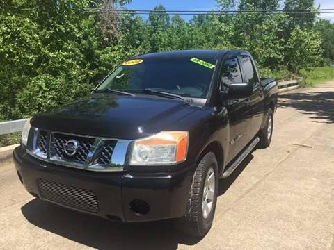 2009 Nissan Titan for sale at McAllister's Auto Sales LLC in Van Buren AR