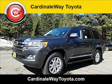 2017 Toyota Land Cruiser for sale in South Lake Tahoe, CA