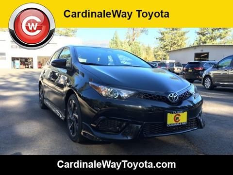2017 Toyota Corolla iM for sale in South Lake Tahoe, CA