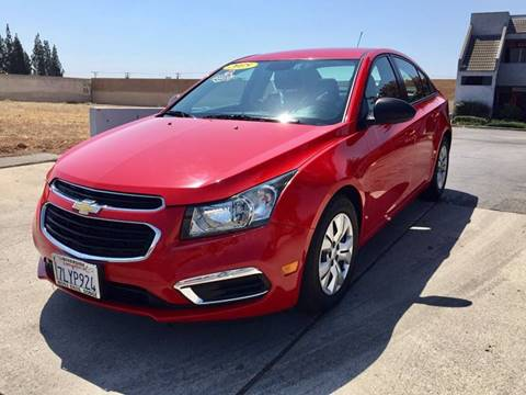 2015 Chevrolet Cruze for sale in Upland CA