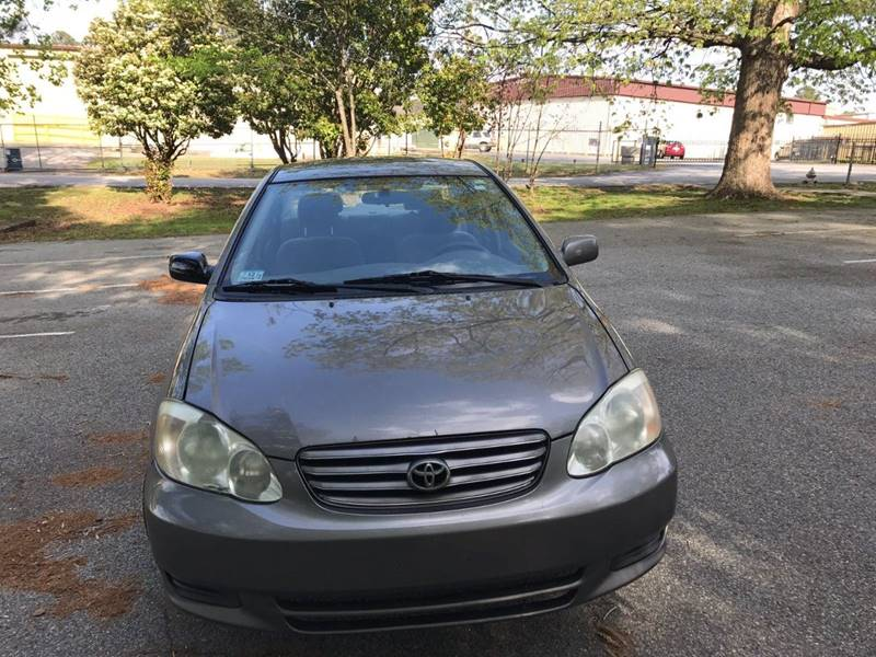 2003 Toyota Corolla LE 4dr Sedan - Lake City GA