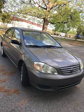 2003 Toyota Corolla for sale at Affordable Dream Cars in Lake City GA