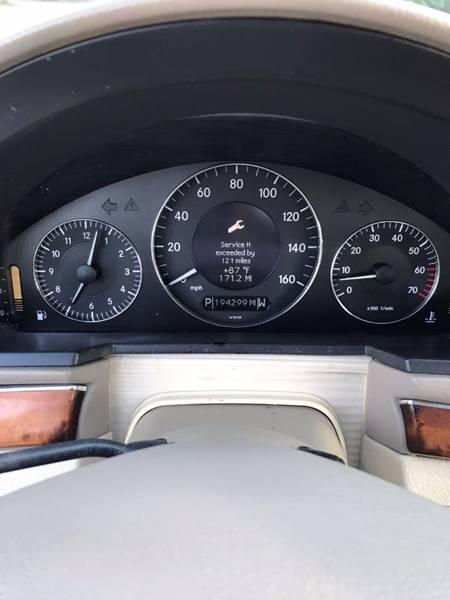 2003 Mercedes-Benz E-Class E 500 4dr Sedan - Lake City GA