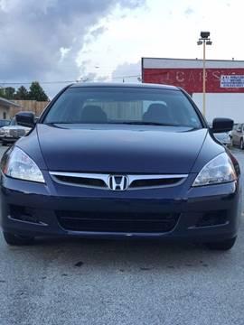 2007 Honda Accord for sale at Affordable Dream Cars in Lake City GA