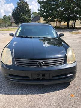 2004 Infiniti G35 for sale at Affordable Dream Cars in Lake City GA