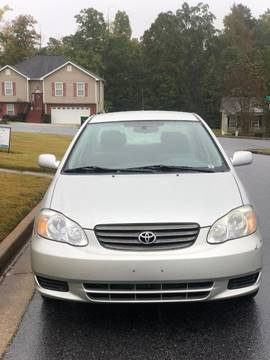 2004 Toyota Corolla for sale at Affordable Dream Cars in Lake City GA