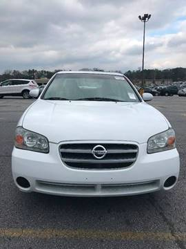 2002 Nissan Maxima for sale at Affordable Dream Cars in Lake City GA