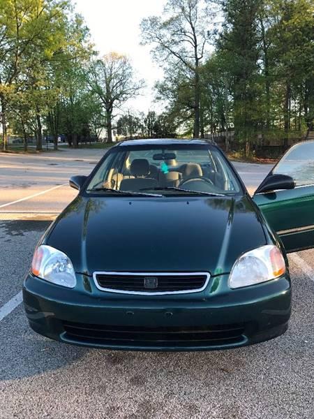 1998 Honda Civic LX 4dr Sedan   Lake City GA
