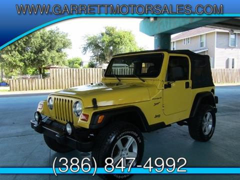 2002 Jeep Wrangler for sale in New Smyrna Beach, FL