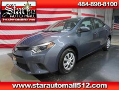 2014 Toyota Corolla for sale in Bethlehem, PA