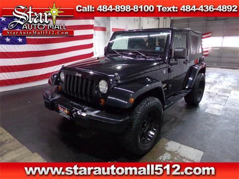 2012 Jeep Wrangler for sale in Bethlehem, PA