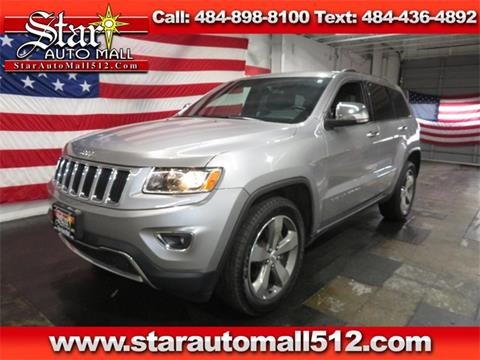 2015 Jeep Grand Cherokee for sale in Bethlehem, PA