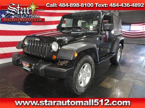 2008 Jeep Wrangler for sale in Bethlehem, PA
