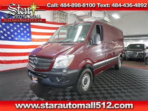 2016 Mercedes-Benz Sprinter Cargo for sale in Bethlehem, PA