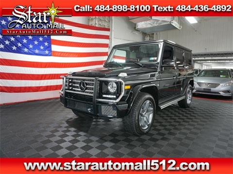 2017 Mercedes-Benz G-Class for sale in Bethlehem, PA
