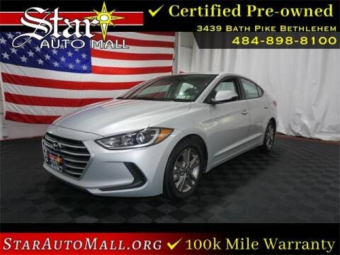 Star Auto Mall 512 >> Hyundai Elantra For Sale In Bethlehem Pa Star Auto Mall 512