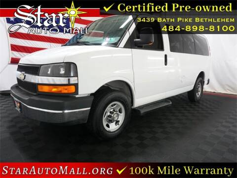 2015 Chevrolet Express Passenger for sale at STAR AUTO MALL 512 in Bethlehem PA