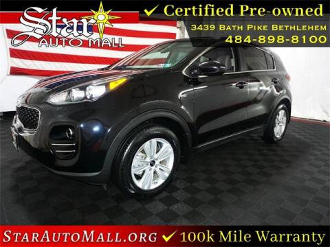 2017 Kia Sportage for sale at STAR AUTO MALL 512 in Bethlehem PA