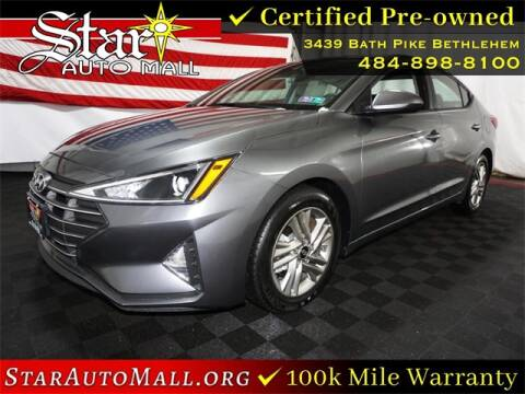 2020 Hyundai Elantra for sale at STAR AUTO MALL 512 in Bethlehem PA