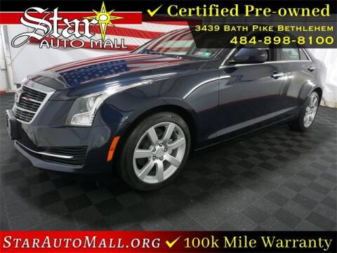 2016 Cadillac ATS for sale at STAR AUTO MALL 512 in Bethlehem PA