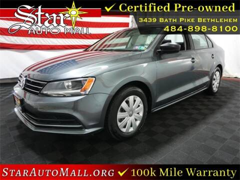 2016 Volkswagen Jetta for sale at STAR AUTO MALL 512 in Bethlehem PA