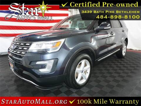 2017 Ford Explorer for sale at STAR AUTO MALL 512 in Bethlehem PA