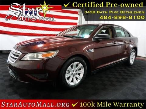 2012 Ford Taurus for sale at STAR AUTO MALL 512 in Bethlehem PA