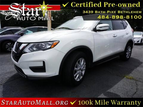 2019 Nissan Rogue for sale at STAR AUTO MALL 512 in Bethlehem PA
