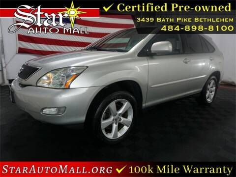 2005 Lexus RX 330 for sale at STAR AUTO MALL 512 in Bethlehem PA