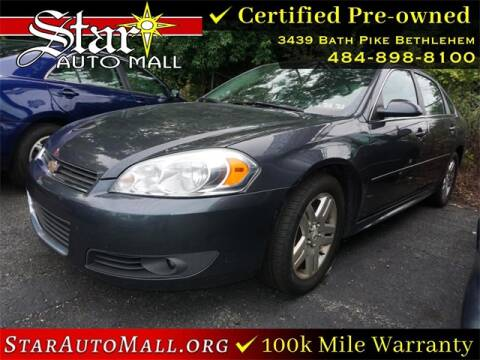 2011 Chevrolet Impala for sale at STAR AUTO MALL 512 in Bethlehem PA
