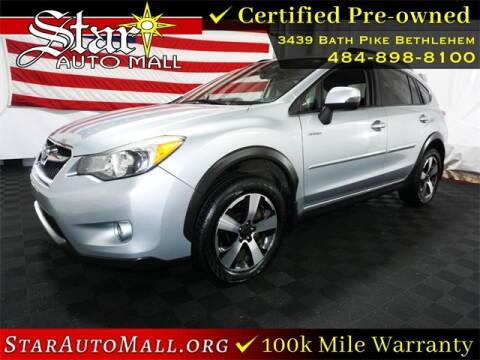 2014 Subaru XV Crosstrek for sale at STAR AUTO MALL 512 in Bethlehem PA