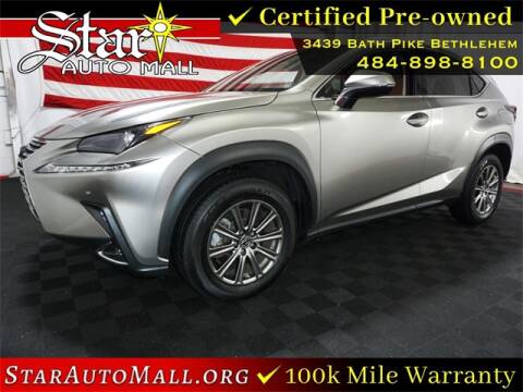 2018 Lexus NX 300 for sale at STAR AUTO MALL 512 in Bethlehem PA
