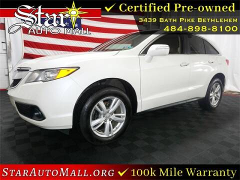 2015 Acura RDX for sale at STAR AUTO MALL 512 in Bethlehem PA