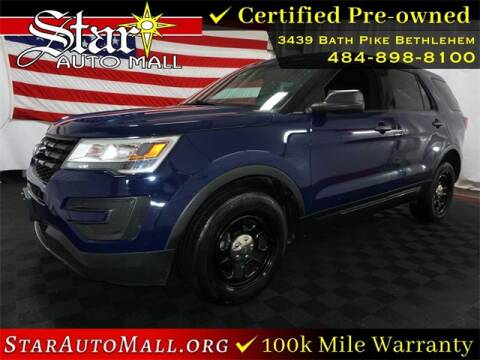 2016 Ford Explorer for sale at STAR AUTO MALL 512 in Bethlehem PA