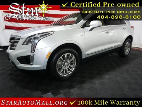 2017 Cadillac XT5 for sale at STAR AUTO MALL 512 in Bethlehem PA